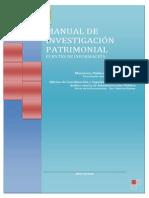 Manual Investigación Patrimonial MPF 2011
