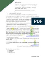 Evaluacion Integral 6to Lenguaje