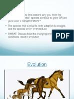Evolution -8th Grade Science