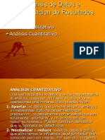 Analisis de Datos e Interpretacion de DAFO