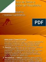Analisis de Datos e Interpretacion de DAFO