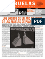 Mensuario Abuelas de Plaza de Mayo 13