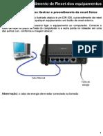 Resetar roteador D-link 524