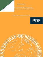 PROGRAMA I Jornadas Nacionales de Filosofía del Departamento de Filosofía de la FFyL- UBA 25 al 28 de noviembre de 2014