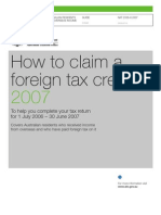How to Claim a Foreign Tax Credit