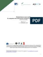 Raport 3 Monitorizare Mass-media in Alegeri 1-8 Noiembrie 2014_Concluzii Generale