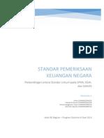 Standar Pemeriksaan Keuangan Negara