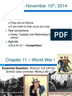wwi causes comptition