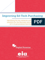 Improving Ed-Tech Purchasing