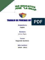Caratula Escuela San Jose La Salle