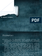 formats etc