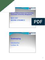 HydrodynamicsinShipDesign Seakeeping