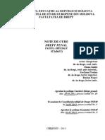 041 - 054 - Drept Penal Partea Speciala I, II