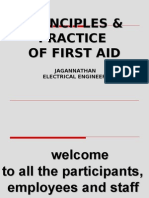 Principles & Practice of First Aid