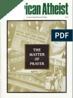 American Atheist Magazine Aug 1995