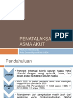 PPT Penatalaksanaan Asma Akut