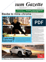 Platinum Gazette 14 November 2014