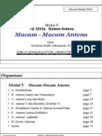 EE3253a 5 Macam-MacamAntena 2004a