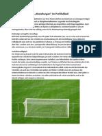 Vertragsstrafen und Abstellungen im Profifußball