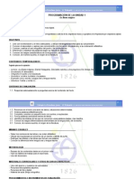 modelo de programación de aula curso 2014-2015