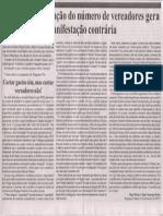 Carta aberta à população de Bragança Paulista. Jornal Em Dia, 13 Nov 2014.