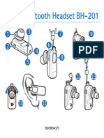 Nokia Bluetooth Headset BH-201 user manual