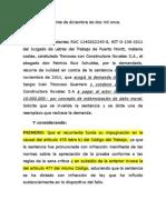 170-2011 - Invalidada de Oficio Daño Moral Debe Probarse