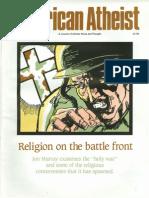 American Atheist Magazine Feb 1991