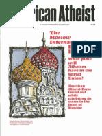 American Atheist Magazine Oct 1991