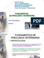 Fundamentos de Preclinica Veterinaria