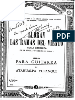 Yupanqui Atahualpa Lloran Las Ramas Del Viento