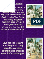 1. a Girl Scout Prayer