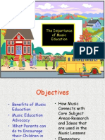 the importance of music education