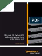 012.4 Manual General de Empalmes en Bandas de Textil