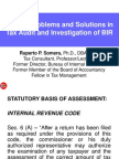 Issues, Problems and Solutions in Tax Audit and Investigation(1-10-13).ppt