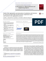 2013-Study of the Aggregation and Adsorption of Asphaltene
