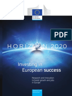 Investing in European Success (Horizon 2020 Brochure) KI3013581ENC_002