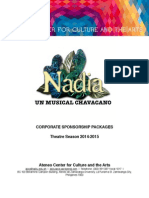 NADIA Corporate Sponsorship Package
