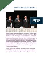 Asi Se Robaron Las Elecciones en Panamá