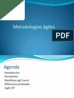 Presentación Metodologias agiles