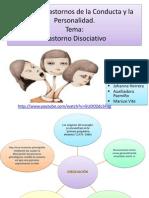 Trastorno Disociativo