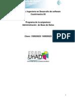 DABD Unidad 0. Presentacio n de La Asignatura