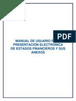 Manual de Usuario Para Recepcion de Estados Financieros - Con Firma Electronica