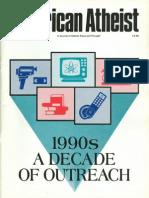 American Atheist Magazine Jan 1990