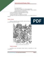 Guía de lectura de Piramo e Tisbe