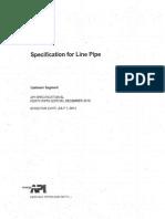 API Spec 5l 45 Ed. Scan