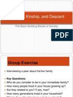 Families Kinship and Descent