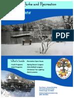 2014-2015 Winter Activities Guide