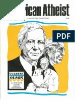 American Atheist Magazine April 1990