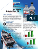 4-Stroke Marine Synthetic Motor Oil - AMSOIL